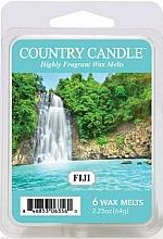 Perfumería y cosmética Cera para lámpara aromática con aroma a ámbar & vainilla - Kringle Kringle Candle Wax Melt Fiji