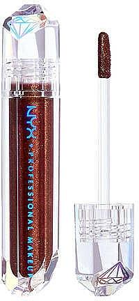 Brillo labial con microperlas, brillo de diamante - NYX Professional Makeup Diamonds & Ice Please Lip Topper