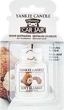 Perfumería y cosmética Ambientador de coche - Yankee Candle Car Jar Ultimate Soft Blanket
