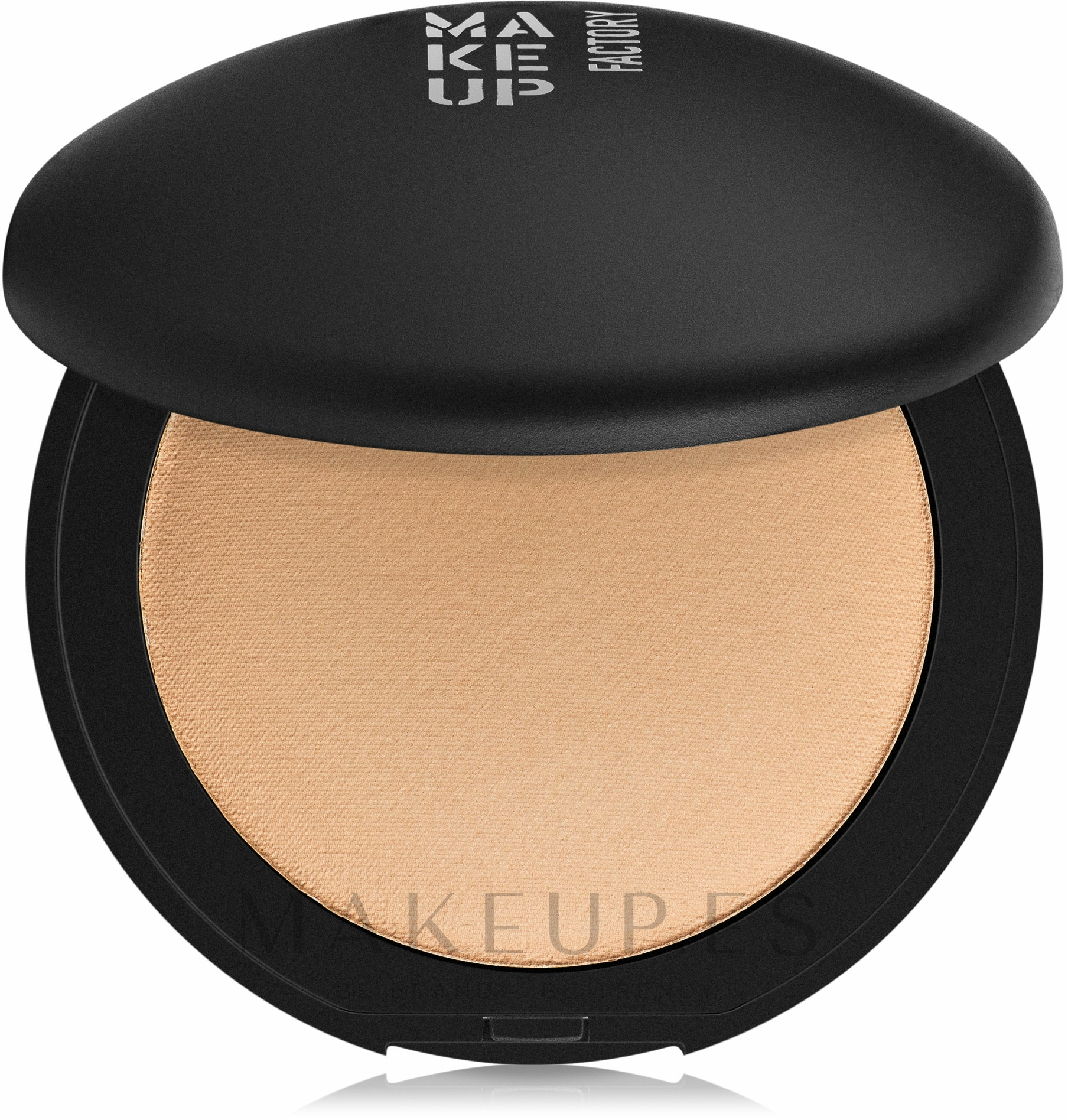 Polvo facial mineral compacto - Make Up Factory Mineral Compact Powder — imagen 06 - Sand