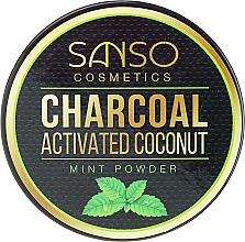 Perfumería y cosmética Blanqueador dental de carbón activo en polvo - Sanso Cosmetics Charcoal Activated Coconut Mint Powder
