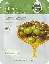 Perfumería y cosmética Mascarilla facial de algodón con oliva - Rorec Natural Skin Olive Mask