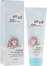 Perfumería y cosmética Espuma de limpieza facial con agua de rosa damascena - Esfolio Pure Skin Rose Cleansing Foam