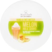 Perfumería y cosmética Manteca para manos y pies con extracto de melón y aceite de jojoba - Stani Chef's Hand And Foot Butter Melon Milk Shake