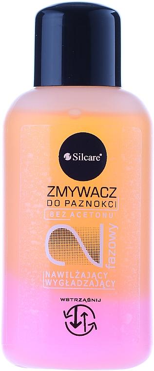 Quitaesmalte de uñas bifásico con aceite de melocotón - Silcare