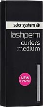 Perfumería y cosmética Rodillos para rizado permanente de pestañas - Salon System Lashlift Curling Rods Medium