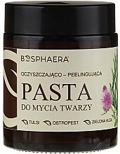 Perfumería y cosmética Exfoliante facial pasta 100% natural con arcilla blanca y almendras - Bosphaera