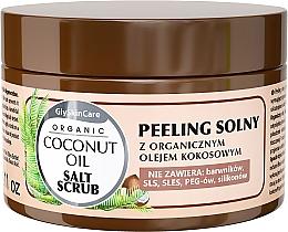 Perfumería y cosmética Exfoliante corporal a base de sal con aceite de coco orgánico - GlySkinCare Coconut Oil Salt Scrub