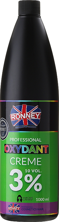Crema oxidante profesional 10 vol. 3% - Ronney Professional Oxidant Creme 3%