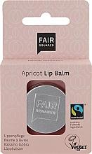 Perfumería y cosmética Bálsamo labial de manteca de karité con albaricoque - Fair Squared Lip Balm Apricot