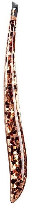 Pinza de depilar oblicua, 76022 - Top Choice Glossy