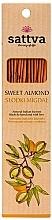 Perfumería y cosmética Varitas de incienso con aroma a almendras dulces - Sattva Sweet Almond