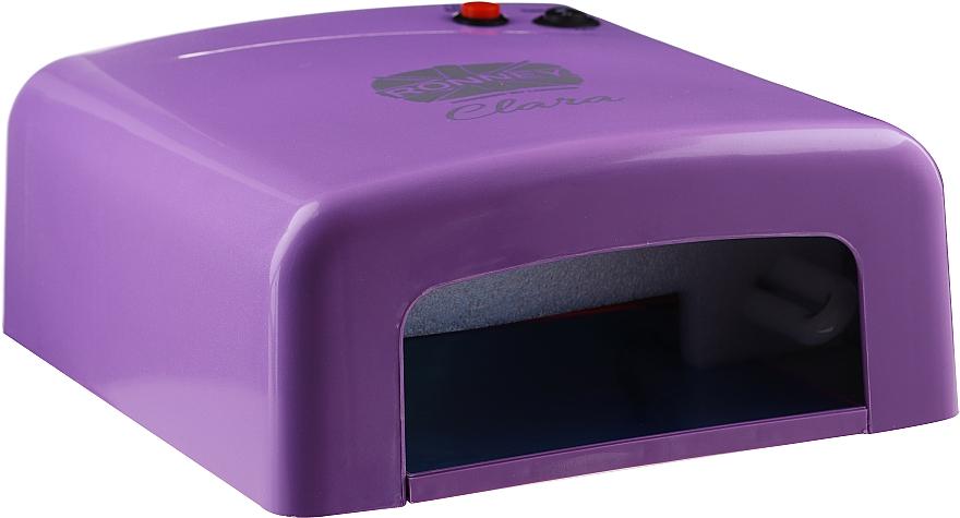 Lámpara UV para manicura, violeta - Ronney Professional UV 36W (GY-UV-818)