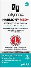 Perfumería y cosmética Emulsión de higiene íntima con complejo prebiótico, betaína, ácido láctico - AA Harmony Med+