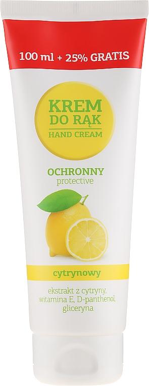 Crema protectora de manos con limón - VGS Polska Hand Cream