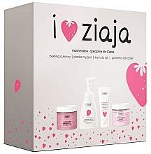Perfumería y cosmética Set corporal (peeling/300ml + crema/50ml + gel de ducha/260ml + espuma/250ml) - Ziaja I Love Ziaja Marshmallow