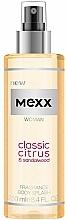 Perfumería y cosmética Mexx Woman Classic Citrus & Sandalwood Body Splash - Spray corporal con tonos florales