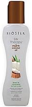Perfumería y cosmética Terapia de seda para cabello con aceite de coco natural - Biosilk Silk Therapy With Organic Coconut Oil Leave In Treatment
