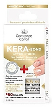 Perfumería y cosmética Tratamiento fortalecedor de uñas con queratina - Constance Carroll Nail Care Kera-Bond After Hybrid
