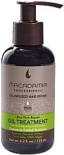 Perfumería y cosmética Tratamiento reparador de cabello con aceite de macadamia - Macadamia Professional Ultra Rich Repair Oil Treatment