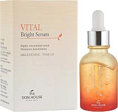Perfumería y cosmética Sérum iluminador facial concentrado con extracto de ginseng, camelia y litchi - The Skin House Vital Bright Serum
