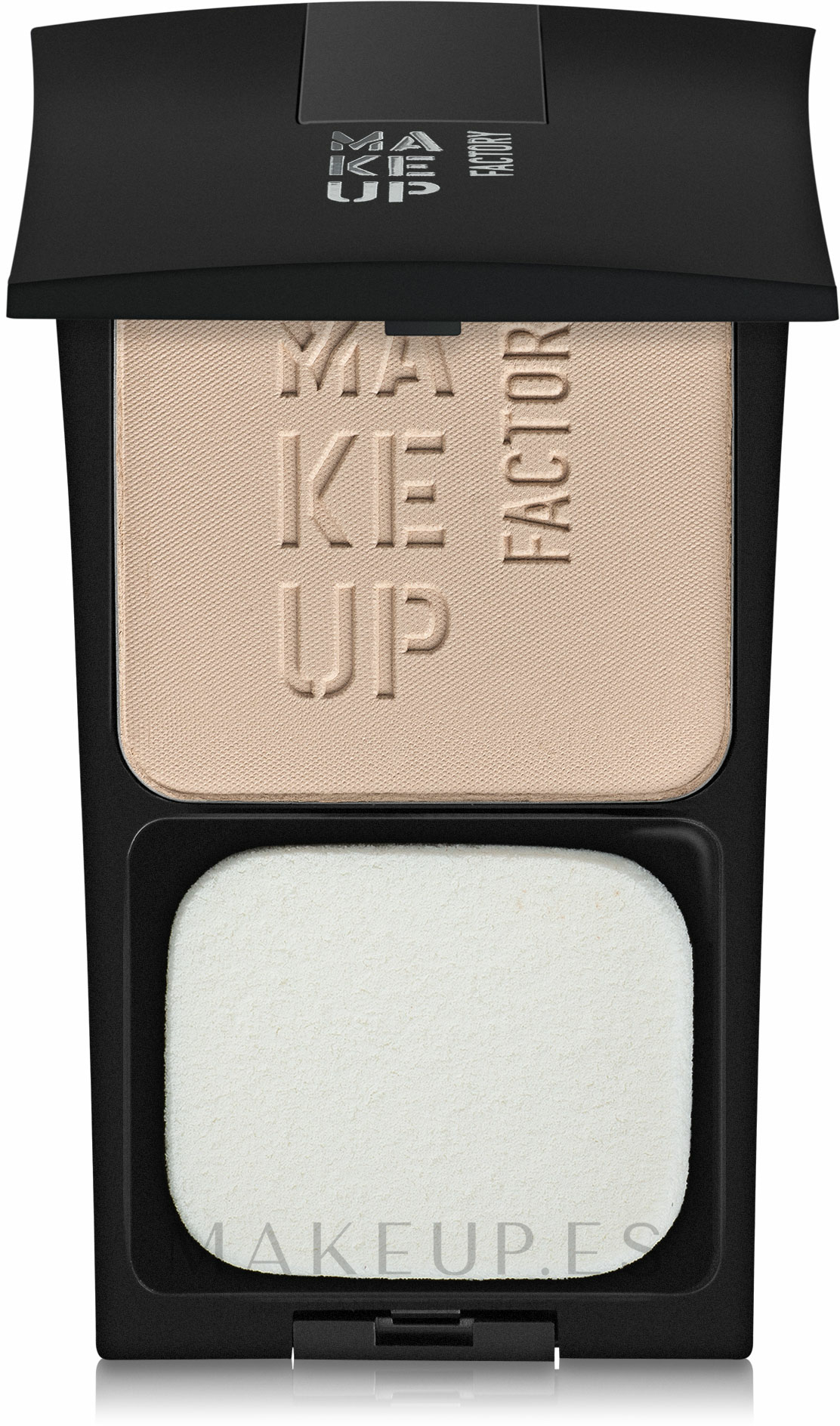Polvo facial compacto - Make Up Factory Compact Powder — imagen 02 - Light Beige