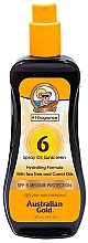 Perfumería y cosmética Aceite protector solar en spray - Australian Gold Tea Tree&Carrot Oils Spray SPF6