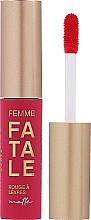Perfumería y cosmética Labial líquido mate - Vivienne Sabo Femme Fatale Rouge a Levres Matte (08 -Marsala)