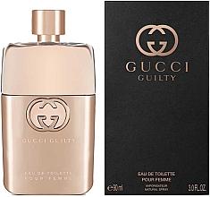 Perfumería y cosmética Gucci Guilty Eau de Toilette Pour Femme - Eau de toilette