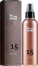 Perfumería y cosmética Spray corporal de protección solar con aloe vera y aceite de argán - Le Tout Sun Protect Body Spray SPF 15