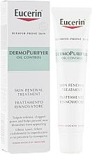 Perfumería y cosmética Crema para la corrección de la piel problemática con ácido salicílico - Eucerin DermoPurifyer Oil Control Skin Renewal Treatment
