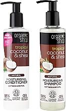 Perfumería y cosmética Set capilar - Organic Shop (champú/280ml + acondicionador/280ml)