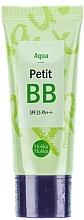 Perfumería y cosmética BB crema con extracto de té verde y aceite de crisantemo y lavanda - Holika Holika Aqua Petit BB Cream SPF25