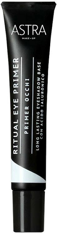 Prebase de sombras de ojos - Astra Make Up Ritual Eye Primer