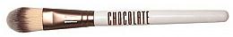 Perfumería y cosmética Brocha para prebases y bases de maquillaje con pelo de taklon - Novara Chocolate No. 17 Taklon Make Up Brush