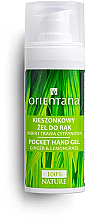 Perfumería y cosmética Gel antibacteriano de manos con jengibre y hierba de limón - Orientana Pocket Hand Gel
