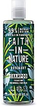 Perfumería y cosmética Champú natural vegano de romero, sin parabenos ni sulfatos - Faith In Nature Rosemary Shampoo
