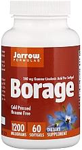 Perfumería y cosmética Complemento alimenticio en cápsulas borraja - Jarrow Formulas Borage GLA-240