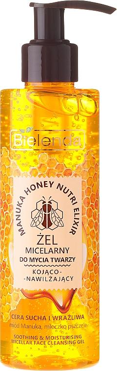 Gel micelar para rostro con jalea real y miel de manuca - Bielenda Manuka Honey Gel Micelar