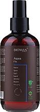 Perfumería y cosmética Spray para modelado y fijación de cabello con extracto de limón y mirto - BioMAN Aqua Fix