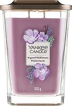 Perfumería y cosmética Vela perfumada con aroma a flores silvestres - Yankee Candle Elevation Sugared Wildflowers
