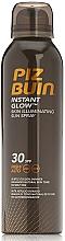 Perfumería y cosmética Spray protector solar con sutil reflejo de tono dorado SPF 30 - Piz Buin Instant Glow SPF30