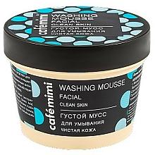 Perfumería y cosmética Mousse de limpieza facial con extracto de salvia - Cafe Mimi Washing Mousse Facial Clean Skin