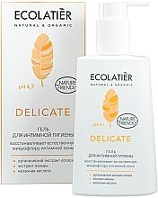 Perfumería y cosmética Gel de higiene íntima con extracto de loto orgánico y malva - Ecolatier Delicate