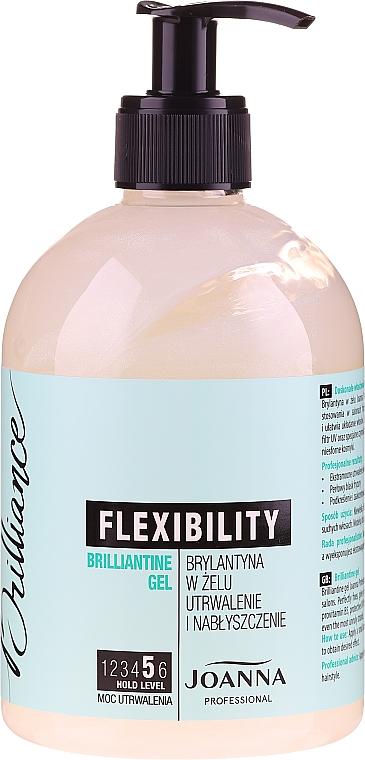 Gel para cabello con provitamina B5, fijación fuerte - Joanna Professional Brillantine Gel