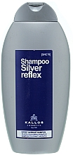 Perfumería y cosmética Champú colorante reflejos plateados - Kallos Cosmetics Silver Reflex Shampoo