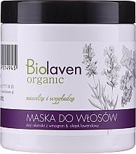 Perfumería y cosmética Mascarilla capilar orgánica con aceite de uva y lavanda - Biolaven Organic Hair Mask