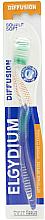 Perfumería y cosmética Cepillo dental de dureza suave, verde - Elgydium Diffusion Soft Toothbrush