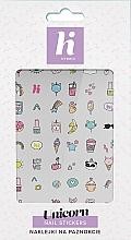 Perfumería y cosmética Pegatinas para uñas - Hi Hybrid Unicorn Nail Stickers