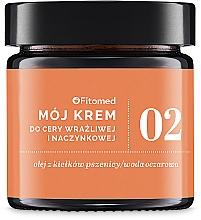 Perfumería y cosmética Crema facial con ceramidas y aceite de macadamia - Fitomed Cream With Ceramides And Lecithin Nr2